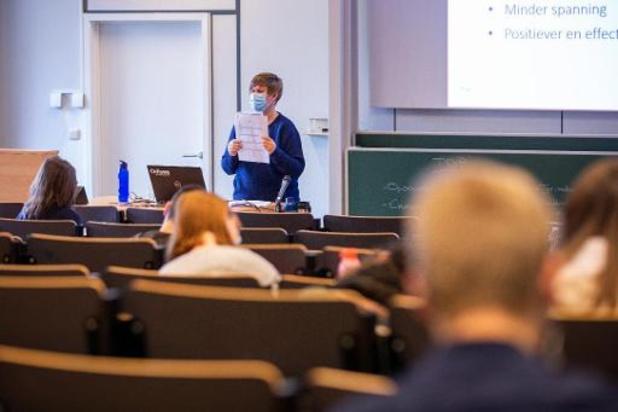 Enseignement en classe en Flandre après les vacances de Toussaint