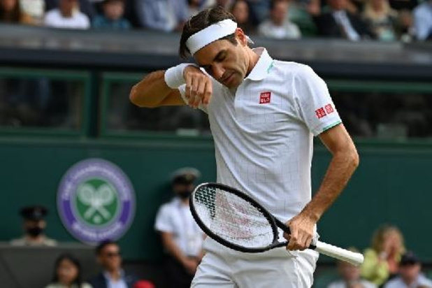 Fin de parcours en quarts de finale pour Roger Federer, battu par Hubert Hurkacz