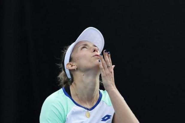 Elise Mertens se qualifie pour le 3e tour en éliminant Heather Watson