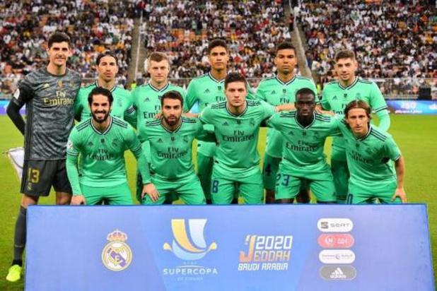Belgen in het buitenland - Thibaut Courtois mag met Real naar finale Spaanse Supercup