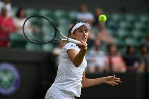 Retour sur le trône du double pour Elise Mertens après sa qualification en finale