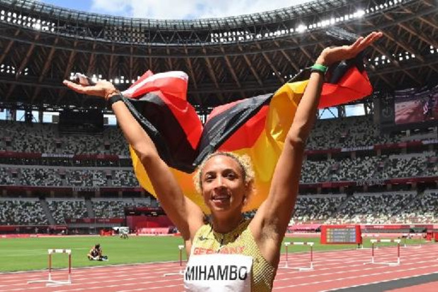 JO 2020 - L'Allemande Malaika Mihambo titrée au saut en longueur