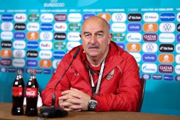 """Euro 2020 - Stanislav Cherchesov: """"Le score aurait pu être plus serré sans quelques erreurs stupides"""""""