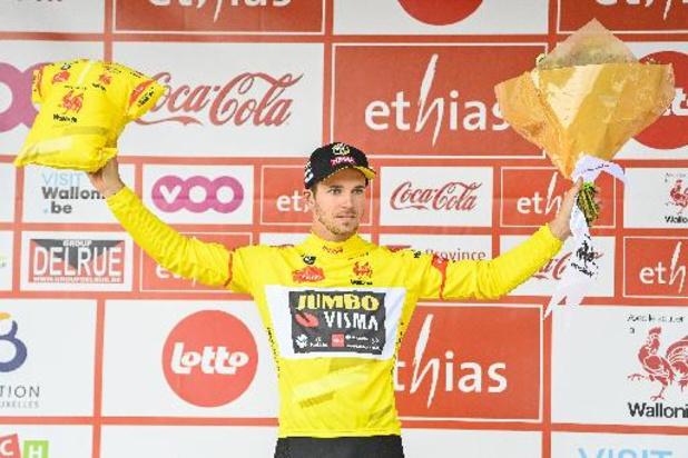 Coup double de Dylan Groenewegen, vainqueur au sprint de la première étape