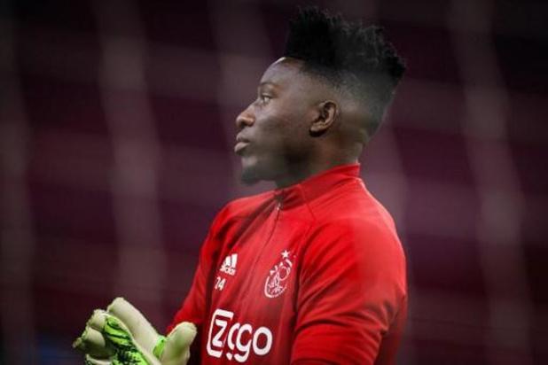Le gardien de l'Ajax Onana suspendu un an pour dopage