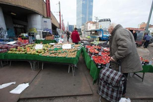 Zondag weer Zuidmarkt in Brussel