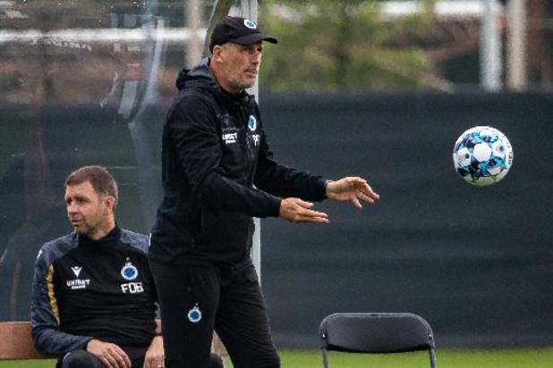Jupiler Pro League - Kampioen Club Brugge speelt in eerste oefenduel gelijk tegen Beerschot