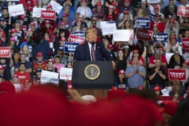 Presidentsverkiezingen VS - Trump kondigt campagnebijeenkomsten in vier staten aan