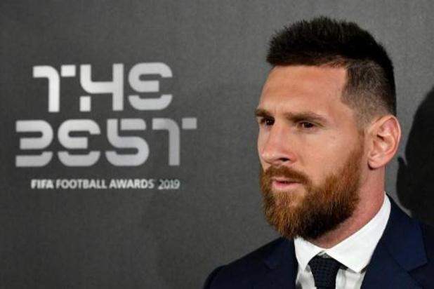 The Best FIFA Football Awards - Lionel Messi élu Joueur FIFA de l'année 2019