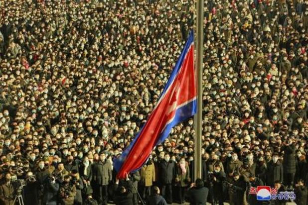 Noord-Koreaanse leider bedankt landgenoten met opvallende kaart