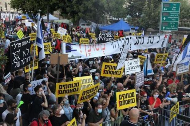 Des milliers de personnes manifestent à Jérusalem contre Netanyahu