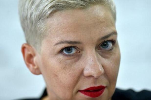 Wit-Russische protestleidster Kolesnikova verscheurde paspoort en zit in hechtenis