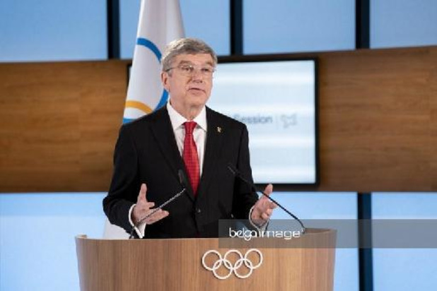 """Thomas Bach, le président du CIO, n'a """"aucune doute"""" sur la tenue des jeux à Tokyo"""