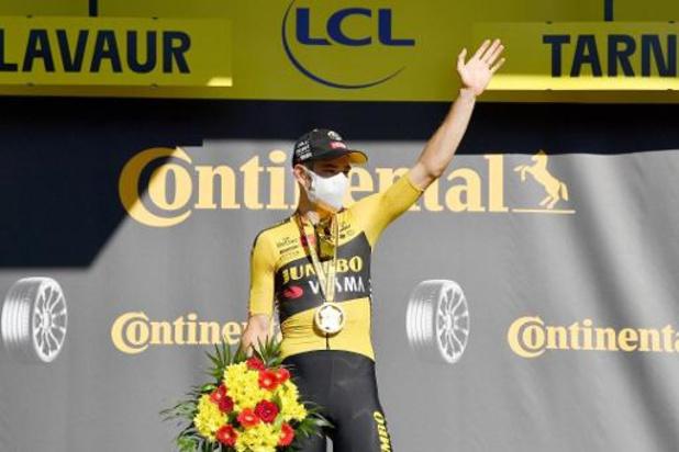 """Wout van Aert sprint naar tweede ritzege: """"Dit had ik niet verwacht"""""""