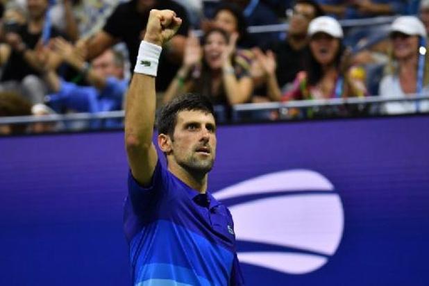 US Open - Novak Djokovic se fait des frayeurs mais passe en quart de l'US Open