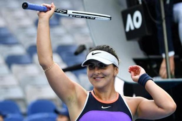 Bianca Andreescu wint eerste wedstrijd sinds eind 2019