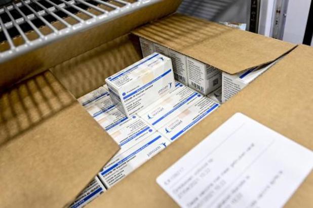 La Belgique a reçu un total de près de 4,6 millions de vaccins