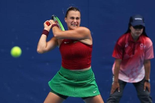 JO 2020 - Sabalenka et Swiatek éliminées au 2e tour du simple dames au tournoi de tennis