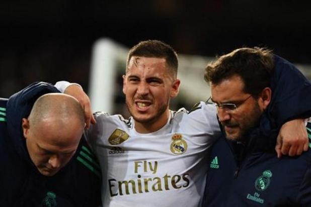 Eden Hazard fait son retour dans la sélection du Real Madrid