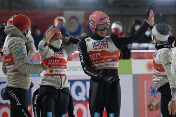 Championnats du monde de saut à ski - L'Allemagne remporte l'épreuve par équipe mixte