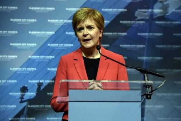"""Ecosse: la cheffe des indépendantistes promet un référendum """"le moment venu"""""""