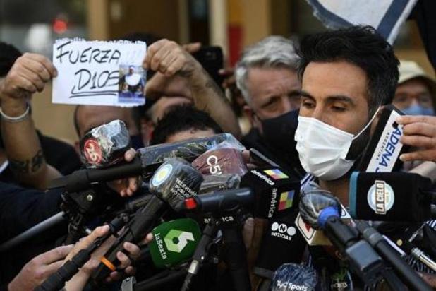 Maradona in ziekenhuis met bloedarmoede en uitdrogingsverschijnselen