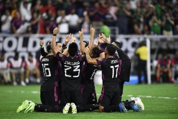Gold Cup - Les Etats-Unis et le Mexique en finale