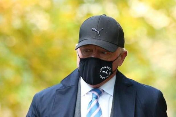 Boris Becker, die onschuldig pleit, beschuldigd van achterhouden inkomsten