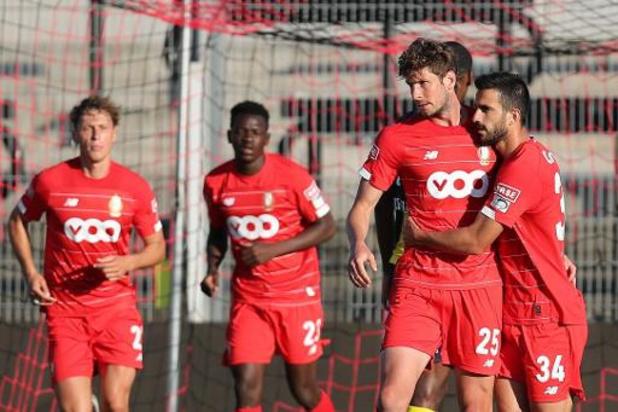 Amicaux: le Standard renverse l'AS Monaco (2-1), le Club Bruges domine Deinze