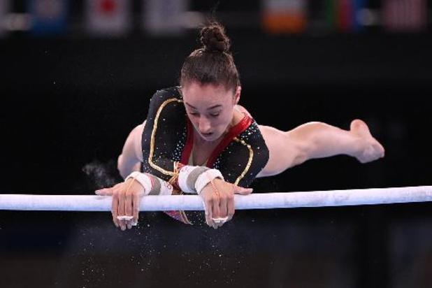 JO 2020: Nina Derwael est championne olympique de gymnastique aux barres asymétriques