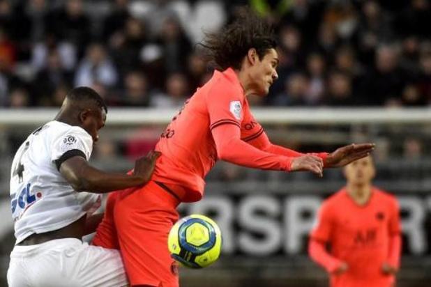 Les Belges à l'étranger - Fin de série pour le Paris Saint-Germain, accroché à Amiens, avant la Ligue des champions