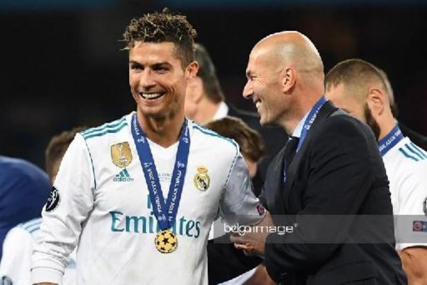 Zidane n'exclut pas un retour de Cristiano Ronaldo au Real