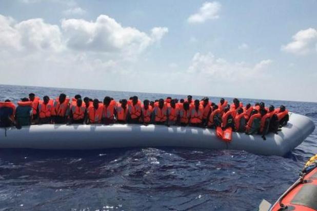 Plus de 500 migrants secourus en une semaine par la marine libyenne