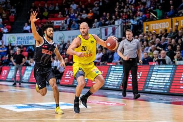 Euromillions Basket League - Limburg Utd gâche la soirée du Brussels à Forest National, Anvers au bout du suspens