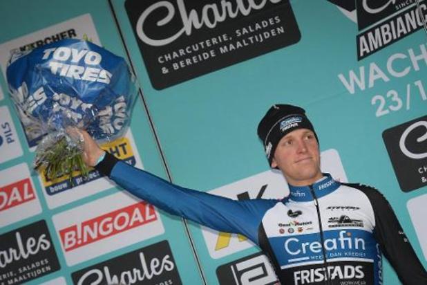 """Tim Merlier hoopte op sprint tegen Van der Poel: """"Maar ben ook tevreden met tweede stek"""""""