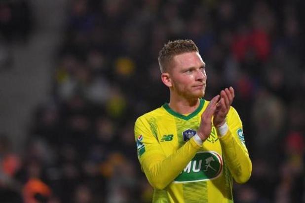 Les Belges à l'étranger - Nantes mène deux fois à Rennes mais perd le derby breton