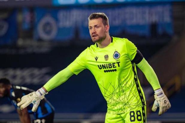Club Brugge kan tegen Kiev dan toch rekenen op Mignolet, die negatief test