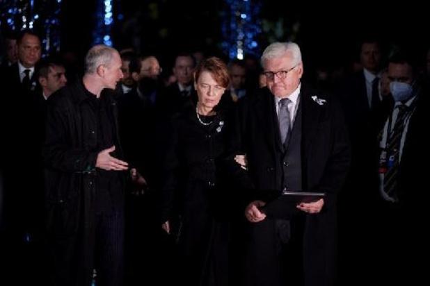 Shoah en Ukraine: les présidents israélien et allemand commémorent les victimes
