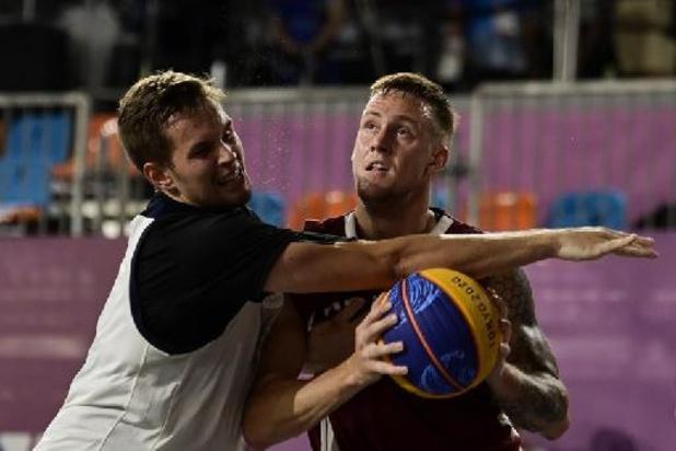Letland verovert eerste olympische titel in basket 3x3 bij de mannen