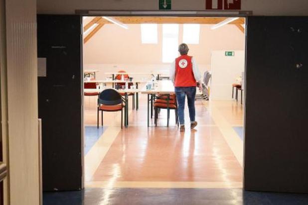 Rode Kruis opent in Montegnée opvangcentrum voor 200 slachtoffers van overstromingen