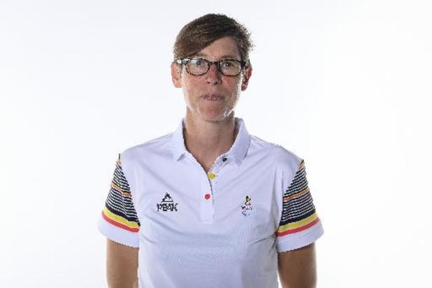 Paralympische Spelen - Griet Hoet verovert brons in de 1 km tijdrit, de eerste Belgische medaille