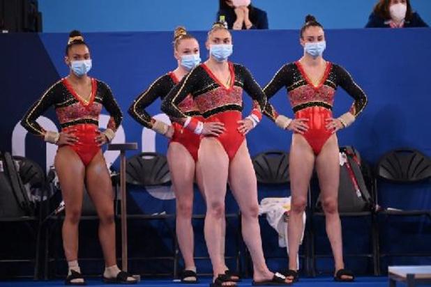 JO 2020: la Belgique termine 8e de sa première finale par équipes en gymnastique, la Russie titrée