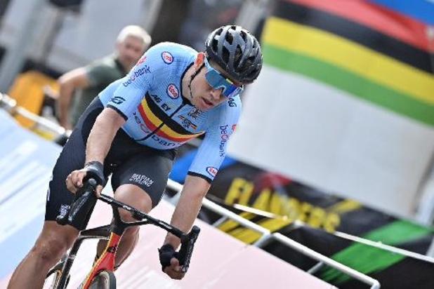 """Mondiaux de cyclisme - Wout van Aert: """"L'équipe a tout donné là mais je n'avais simplement pas les jambes"""""""