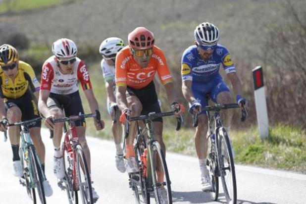 Organisator vraagt UCI om nieuwe datum te zoeken voor Strade Bianche