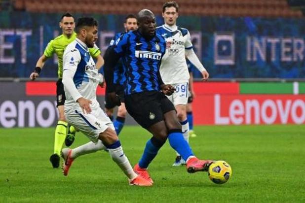 Les Belges à l'étranger - L'Inter a fait le dos rond mais a pris les trois points contre l'Atalanta