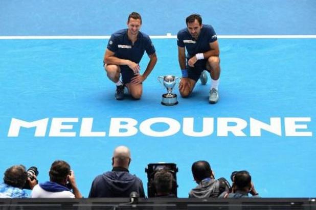 Australian Open - Ivan Dodig en Filip Polasek winnen finale dubbelspel