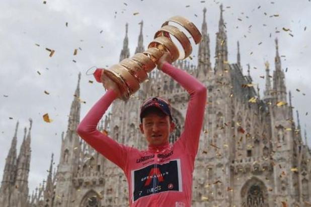 Deux chronos et huit arrivées au sommet pour le Giro qui fête les 90 ans du maillot rose