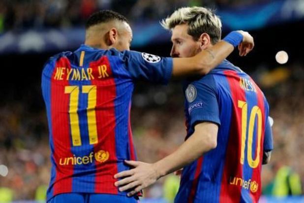 """Neymar dropt bommetje: """"Ik hoop volgend seizoen opnieuw met Messi samen te spelen"""""""