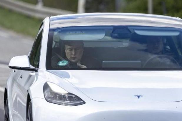 L'usine Tesla allemande opérationnelle d'ici 2022, espère Elon Musk