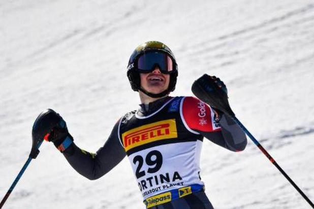 Le Norvégien Foss-Solevaag remporte le slalom, Armand Marchant 10e